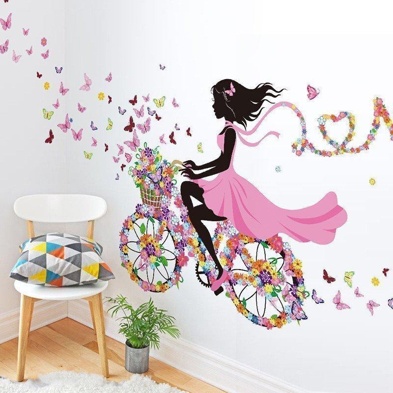 Картинке девушке на стену