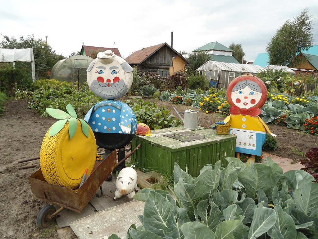 самоделки для сада в украине фото фотоконкурсе