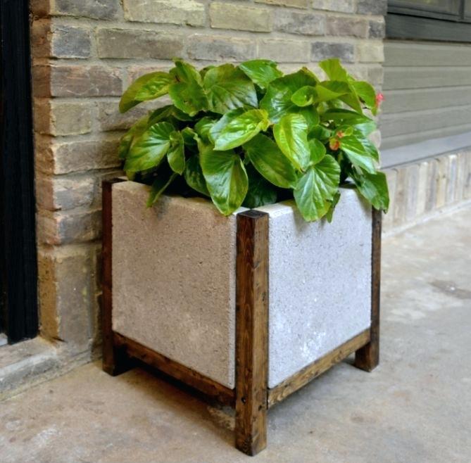 Как сделать вазоны для цветов уличные бетонные своими руками фото и видео