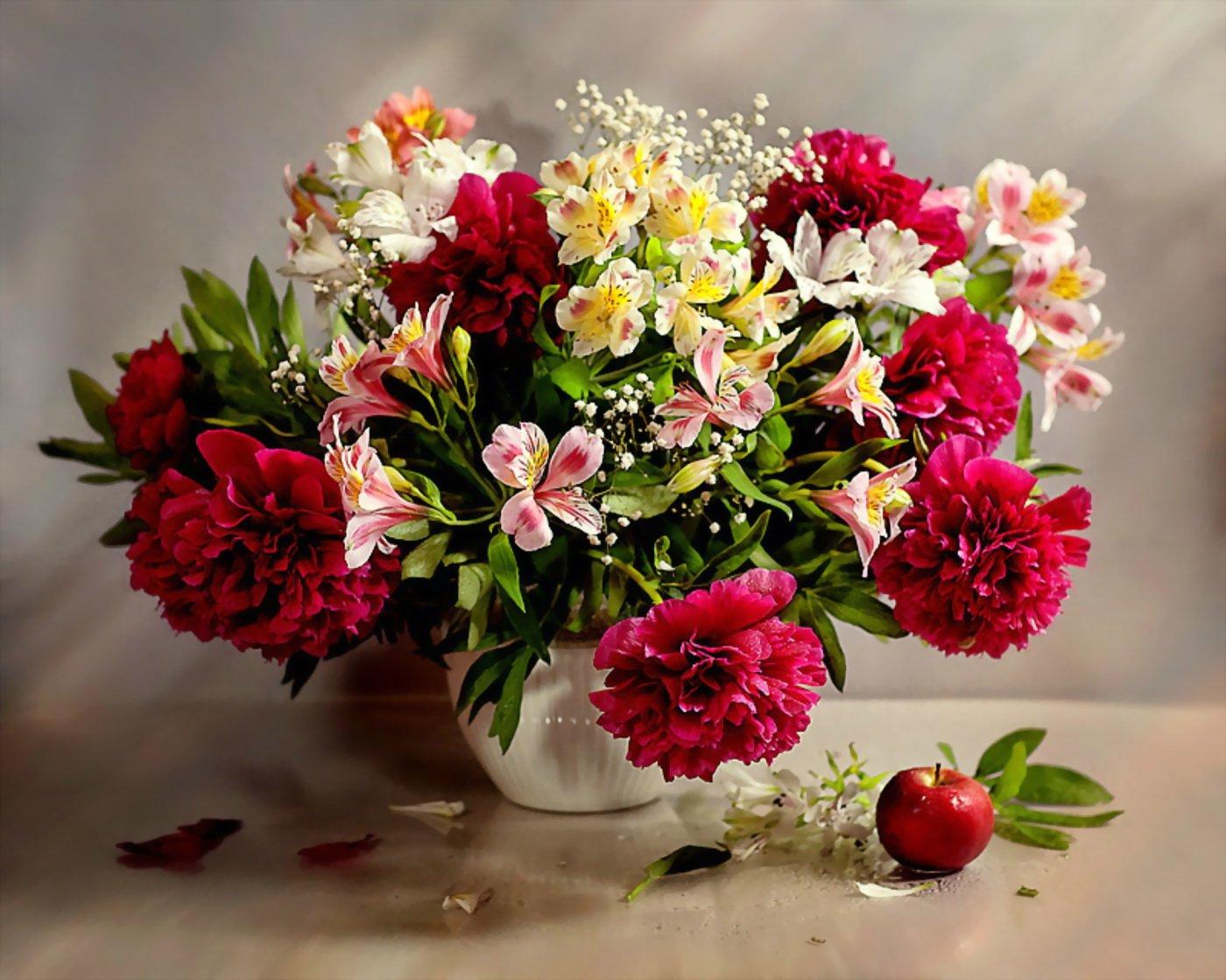 картинки красивейших букетов цветов асб