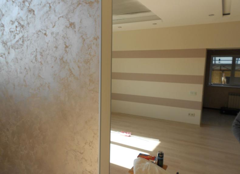покраска гипсокартоновой стены