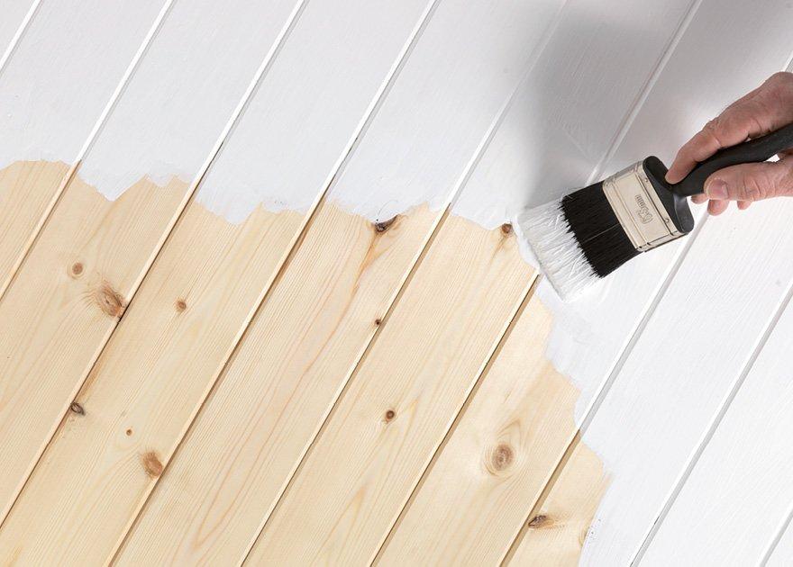 как обновить вагонку внутри дома покрытую лаком